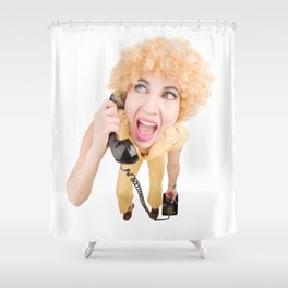 70's Geek Shower Curtain