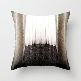 CURTAIN Throw Pillow