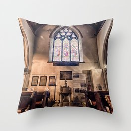 British Church Throw Pillow