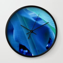 hearts of palm 64 Wall Clock