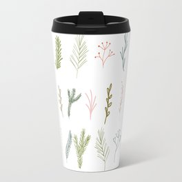 Forest branches repeat pattern. Travel Mug