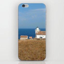 beach front lighthouse medulin croatia Istria iPhone Skin