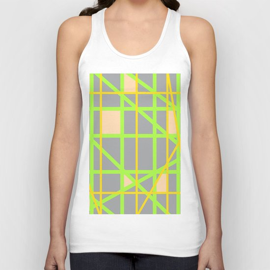 Abstract RD Unisex Tank Top