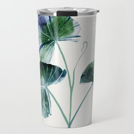 Water lily leaves Travel Mug