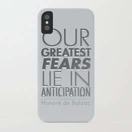 Anticipation iPhone Case