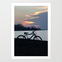 Once Upon a Sunset Art Print