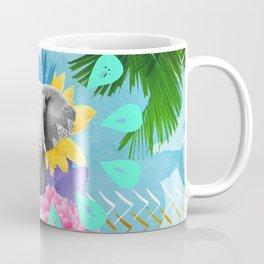 Elephant Festival - Blue Coffee Mug