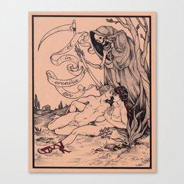 Et in Arcadia Ego Canvas Print