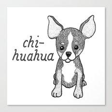 Dog Breeds: Chihuahua Canvas Print