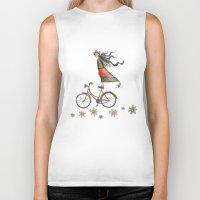 olivia joy Biker Tanks featuring Joy by Catru