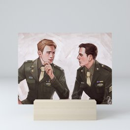 Two Kids from Brooklyn Mini Art Print