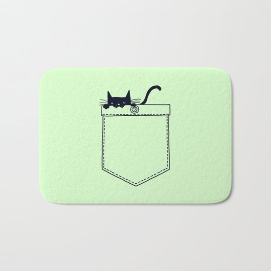 Po(CAT) Bath Mat