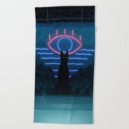 Forgotten Pool Beach Towel