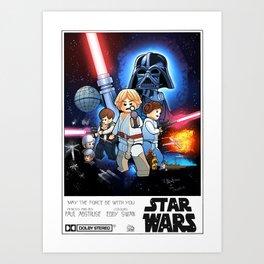 A new Lego hope Art Print