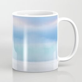 Misty Abstract Wave, Carmel Coffee Mug