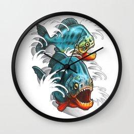 Carnivores! Wall Clock