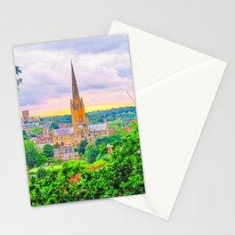 Norwich, U.K at Sunset Stationery Cards