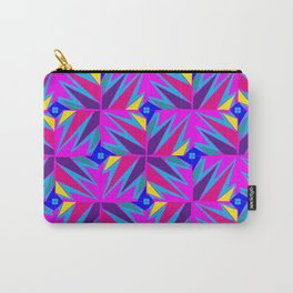 Retro Rosemary Pink Carry-All Pouch
