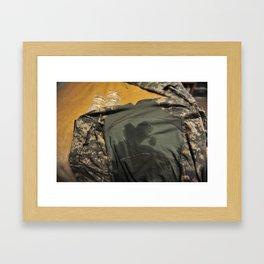 Guarding My Heart Framed Art Print