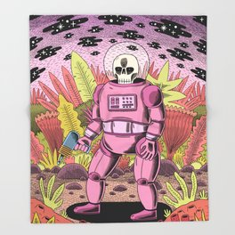 The Dead Spaceman Throw Blanket