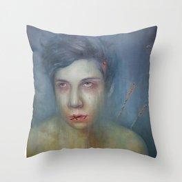 Paranoia Throw Pillow
