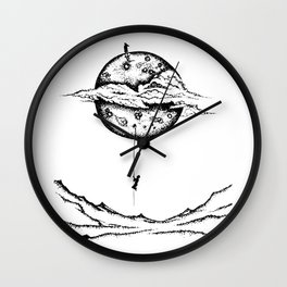 Reach out for LOVE Wall Clock