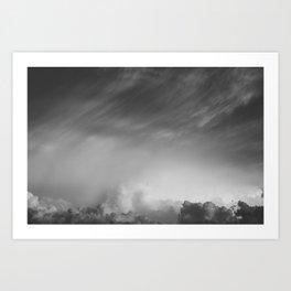 Oklahoma Storm Clouds Art Print