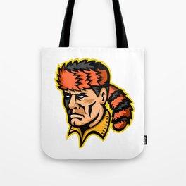 Davy Crockett Mascot Tote Bag