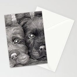 Flat Coat Retrievers Stationery Cards