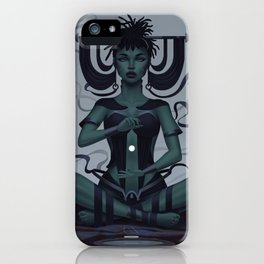 Goddess of Flow iPhone Case