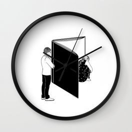 You know my name, not my story Wall Clock