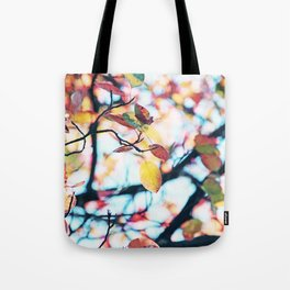 Happy Autumn Colors Tote Bag
