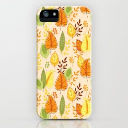 Fall together iPhone Case