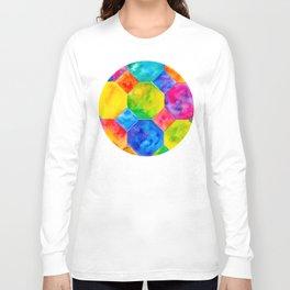 Geometric Brights #1 Long Sleeve T-shirt