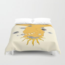 Everything Revolves Around Us Duvet Cover