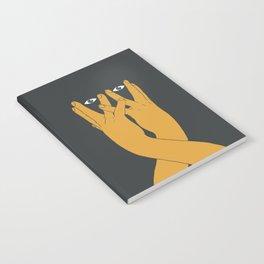 Hands mask Notebook