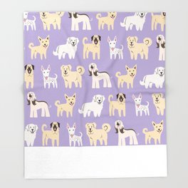 MIDDLE EASTERN DOGS Throw Blanket