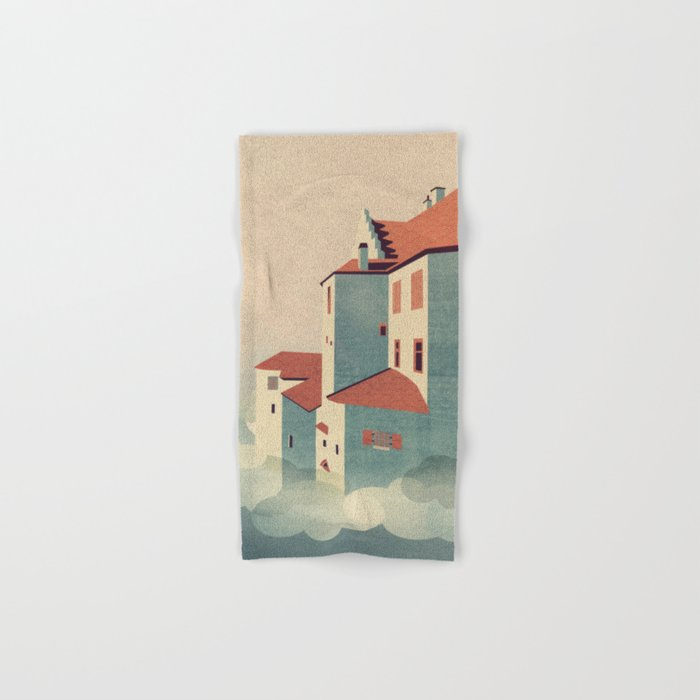 Castle in the Sky Hand & Bath Towel