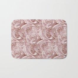 Decoration pattern of pink Roses Bath Mat
