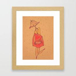 The Perfect Raincoat Framed Art Print