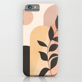 Abstract Art Plant 3 iPhone Case