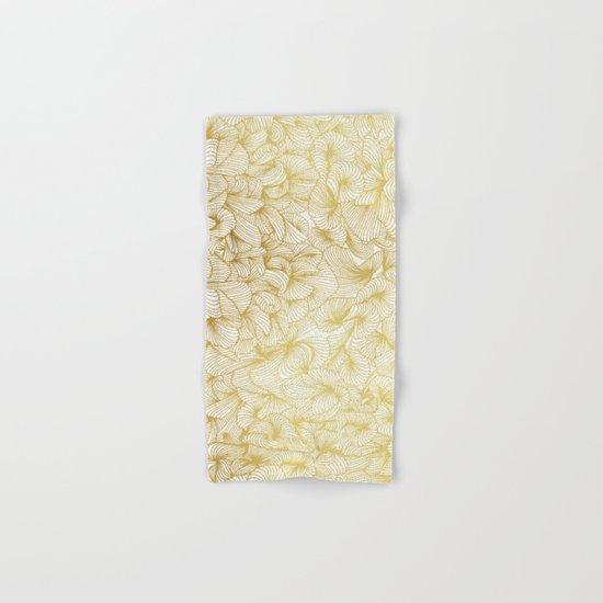 Gold Inklings Hand & Bath Towel