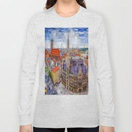 Munich Cityscape Long Sleeve T-shirt