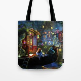 Wanderer's Cove Tote Bag