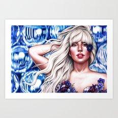 Mother Monster O2 Art Print