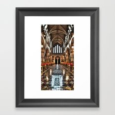 Christ Church Cathedral HDR Dublin Framed Art Print