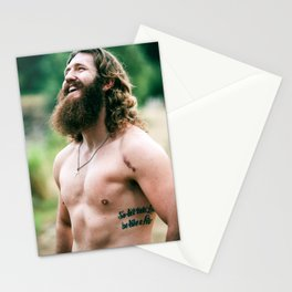 Bear :: Oh how we used to laugh Stationery Cards