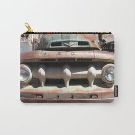 Ford Truck, Old Ford Grill, Truck, Man Cave Art Carry-All Pouch