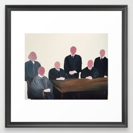 The Judges Framed Art Print