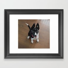 Little Doggy Framed Art Print